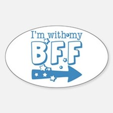 I'm with My BFF (RIGHT) Decal