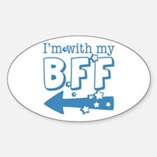 I'm with My BFF (LEFT) Decal