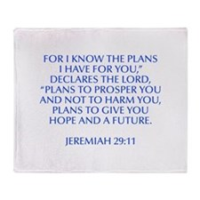 For I know the plans I have for you declares the L