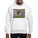 Lilies & G-Shep Hooded Sweatshirt