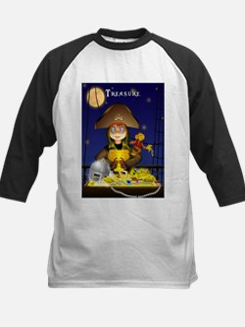 Pirate and Treasure Baseball Jersey