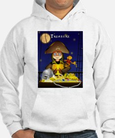 Pirate and Treasure Hoodie