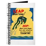 Leap Don't Lag Frog Journal