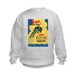 Leap Don't Lag Frog Kids Sweatshirt