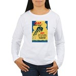 Leap Don't Lag Frog Women's Long Sleeve T-Shirt
