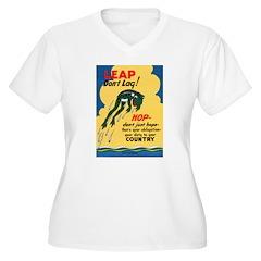 Leap Don't Lag Frog T-Shirt