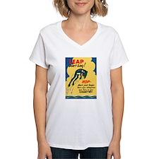 Leap Don't Lag Frog (Front) Shirt