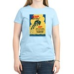 Leap Don't Lag Frog (Front) Women's Light T-Shirt