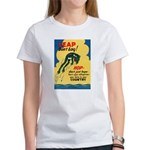 Leap Don't Lag Frog (Front) Women's T-Shirt