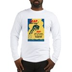 Leap Don't Lag Frog Long Sleeve T-Shirt