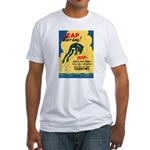 Leap Don't Lag Frog Fitted T-Shirt