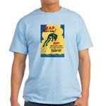 Leap Don't Lag Frog Light T-Shirt