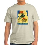 Leap Don't Lag Frog (Front) Light T-Shirt