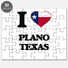 I love Plano Texas Puzzle