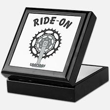 Ride On Cycling / Bicycling Keepsake Box