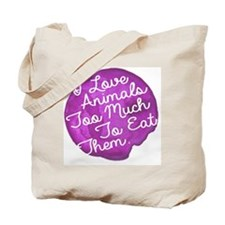 Cute Save animals Tote Bag