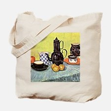 Van Gogh - Still Life with Blue Enamel Co Tote Bag