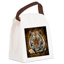 Cute Lion Canvas Lunch Bag