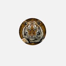 White lion Mini Button