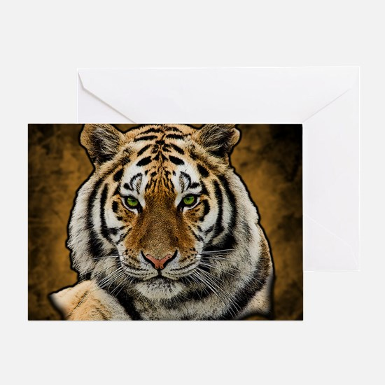 Funny Tiger Greeting Card