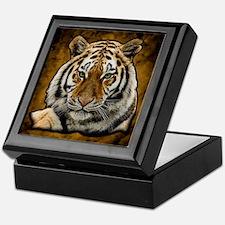 Unique White tiger Keepsake Box