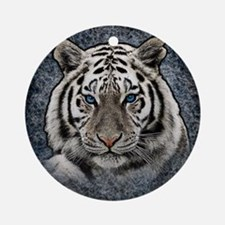 Cute Tiger Round Ornament