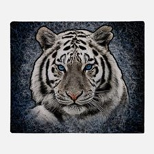 Cute Tiger Throw Blanket