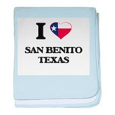 I love San Benito Texas baby blanket