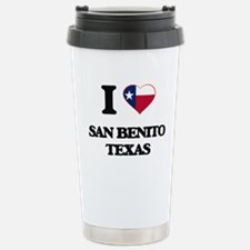 I love San Benito Texas Travel Mug