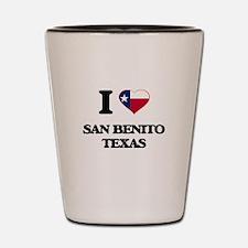 I love San Benito Texas Shot Glass