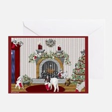 Goat Christmas Littlest Stocking Kids Greeting Car