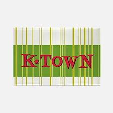 K-Town Knoxville Avocado Rectangle Magnet