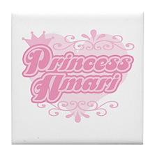 """""""Princess Amari"""" Tile Coaster"""