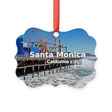 Santa Monica Ornament