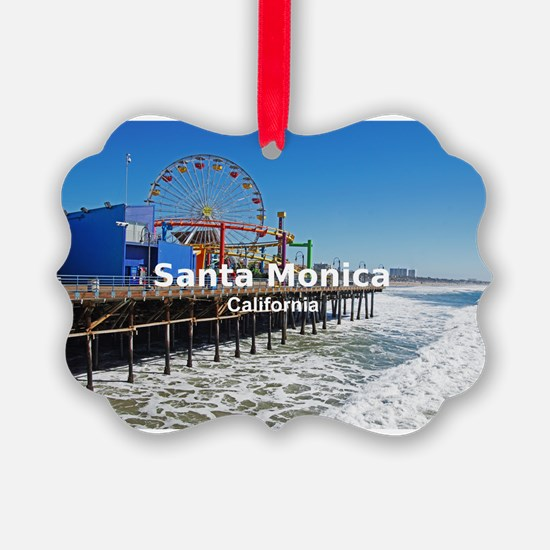 Santa Monica Ornament
