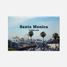 Santa Monica Rectangle Magnet (10 pack)