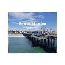 Santa Monica Throw Blanket