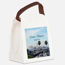 Santa Monica Canvas Lunch Bag