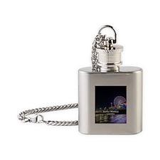 Santa Monica Flask Necklace