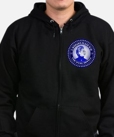 A Woman's Place is in the Oval O Zip Hoody