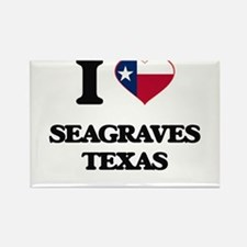 I love Seagraves Texas Magnets