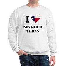I love Seymour Texas Jumper
