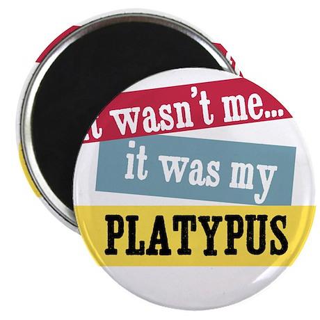 "Platypus 2.25"" Magnet (10 pack)"