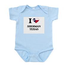 I love Sherman Texas Body Suit