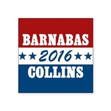 "Vote For Barnabas Collins Square Sticker 3"" x 3"""