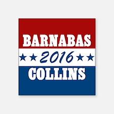 "Vote For Barnabas Collins Square Sticker 3"" x 3"""