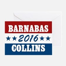 Vote For Barnabas Collins Greeting Card