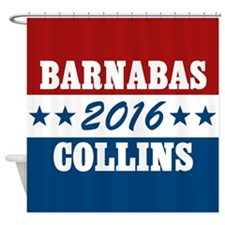 Vote For Barnabas Collins Shower Curtain