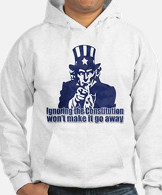 Don't Ignore the Constitution Jumper Hoody