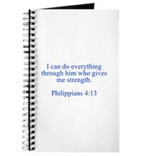 I can do everything through him who gives me stren